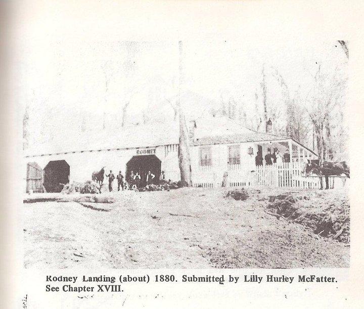 The Rodney Riving Landing c. 1880s