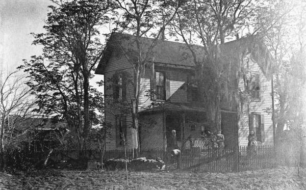 Henley Family Home | Built c. 1886 | Photo courtesy of  The Florida Memory Project
